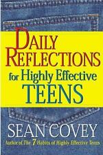 Daily Reflections for Highly Effective Teens by Sean Covey (1999, Paperback)