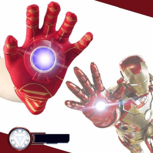 The Avengers Age of Iron Man Hand Glove with Light and Sound Kids Cosplay Toys