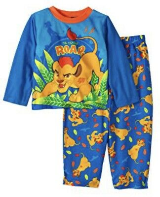 The Lion Guard Fiercest Roar Toddler Boy Pajamas Pj's Size 2t NWT