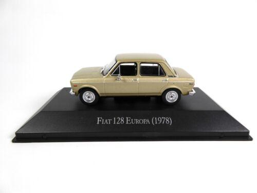 Fiat 128 Europa 1978 1//43 Voiture Miniature SALVAT Diecast Model Car AR19