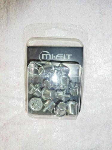 Mi-Fit Rugby Équipement Aluminium Lot de 12 Cerf-volant Mark Rivets Rugby//Football