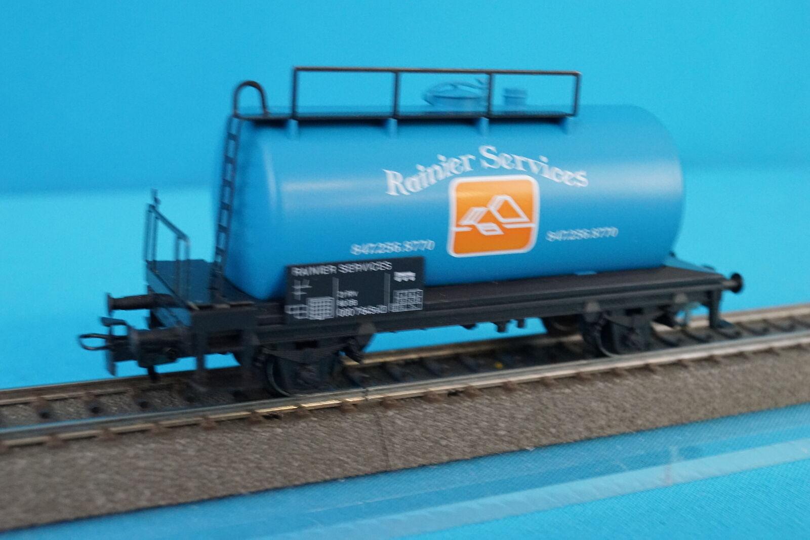 Marklin 4441014 Tanker auto blu RAINIER SERVICES 1997 USA