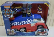 Power Patrol Ready Race Rescue Mobile Pit Stop Team Vehicle Play Toy