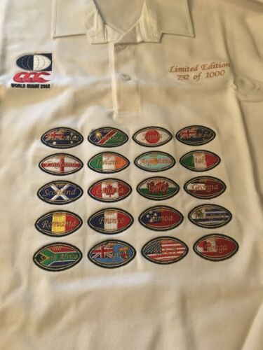 Limited Edition World Cup Rugby Shirt