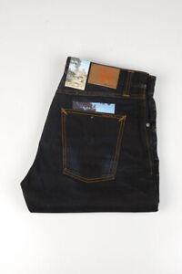 32484 Nudie Jeans Big Bengt Night Thunder Bleu Foncé Hommes Jean Taille 32/32