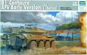 """Trumpeter 1:35 B1 """"Centauro"""" AFV Early Version (2nd série) Model Kit"""