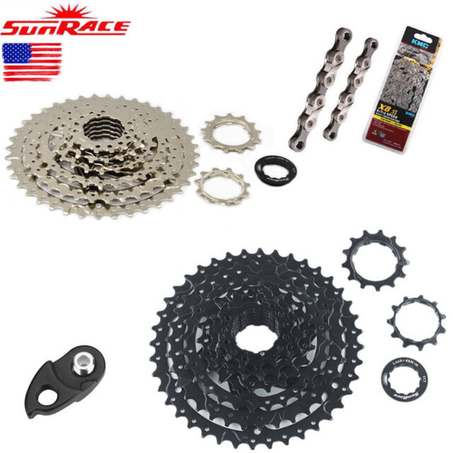Sunrace MX3 Mountain Bike Bicycle Shimano 10 Speed Cassette 11-40T Silver