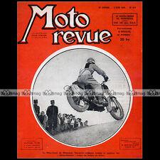MOTO REVUE N°917 VERRECCHIA ★ NSU 100 FOX ★ MOTO-CROSS à MONTREUIL BOL D'OR 1948