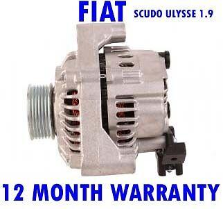 Fiat scudo ulysse combinato 1.9 2.1 1996 1997 1998 1999 - 2006 alternator