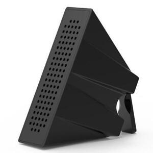 1X-ABS-Mini-Loud-speaker-stereo-amplifier-Phone-Holder-Mount-Bracket-Stand-K6A4