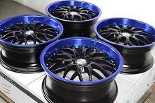 "17"" Blue Wheels Rims 5x114.3 Acura CL Legend MDX RDX RSX TL TLX Mustang Accord"