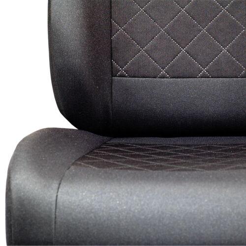 Schwarze Sitzbezüge für KIA CARENS Autositzbezug Komplett