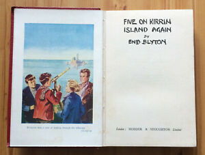 ENID-BLYTON-FAMOUS-FIVE-ON-KIRRIN-ISLAND-AGAIN-1ST-FIRST-EDITION-1947-VERY-RARE