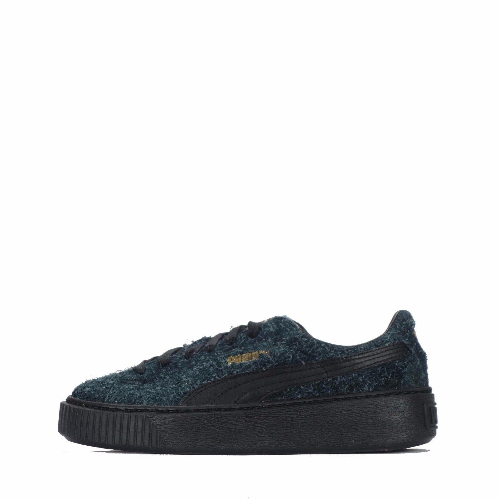Puma Suede Platform Elemental / femmes Chaussures Noir / Elemental Noir 66ff53