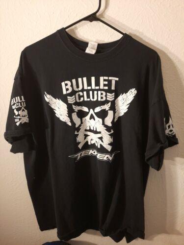 Bullet Club TEKKEN Shirt 2XL Heihachi Pre Owned NJ