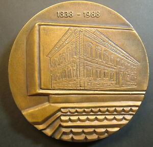 1988 Italie Cassa Di économie De Ferrare Médaille 150° Della Fondation Voulez-Vous Acheter Des Produits Autochtones Chinois?
