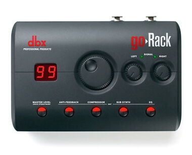 DBX goRack Performance Processor