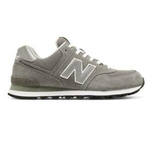 b26ea12fb53 Image is loading New-Balance-Men-039-s-Sneaker-Grey-Silver-