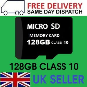 128gb Micro SD Card Class 10 TF Flash Memory Mini SDHC SDXC - 128g - - UK