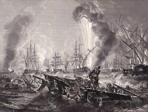 Bataille-de-Navarin-Battle-of-Navarino-Grece-Greece-1821