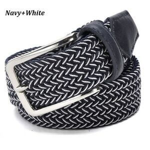 Mens Kaven Peter Hand Woven Top Quality Braided Belt Grey /& Blue Grey Msrp$39.95