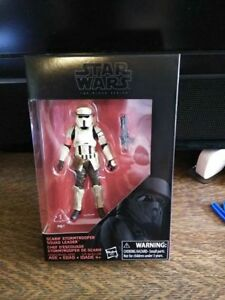 STAR WARS SCARIF STORMTROOPER SQUAD LEADER 3.75 INCH BLACK SERIES ACTION FIGURE