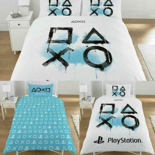 Sony Playstation Single Double King Size Duvet Cover Set Boys Kids Bedding