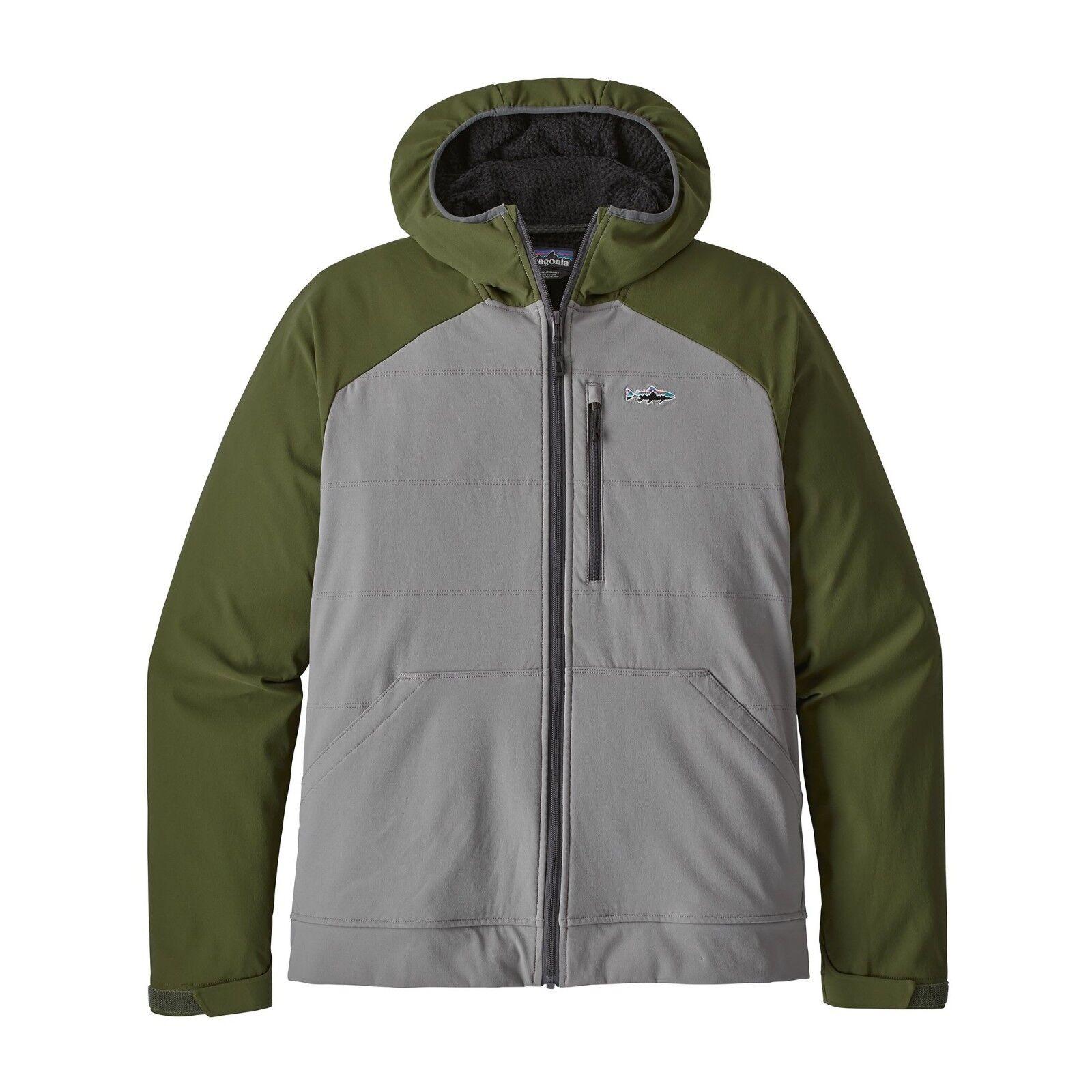 Patagonia uomo SNAP Dry Hoody Jacket-Feather grigio-fea-M Medium