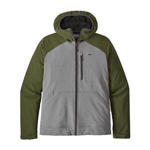 Patagonia-Men-039-s-Snap-Dry-Hoody-Jacket-Feather-Grey-FEA-M-Medium