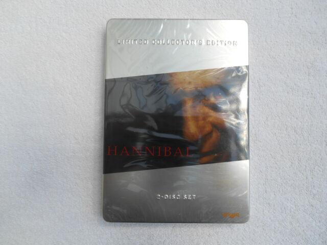 Hannibal - (2 Disc) Ld. Collectors Ed. (2007) Limitierte Steelbook OOP Neu Lesen
