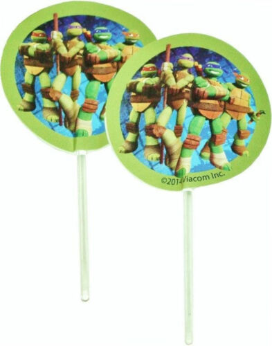 NEW TMNT Teenage Mutant Ninja Turtle Cupcake Fun Pix from Wilton #7744