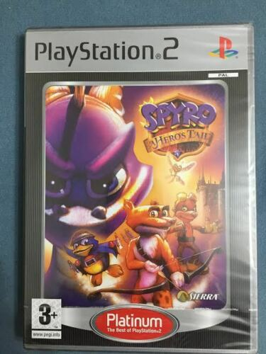 1 of 1 - Spyro: A Hero's Tail (PS2/PS3)  Game Playstation PAL UK Version NEW SEALED