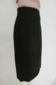 Clothing, Shoes & Accessories J Crew Skirt Black 100% Wool Classic Straight Pencil Size 8