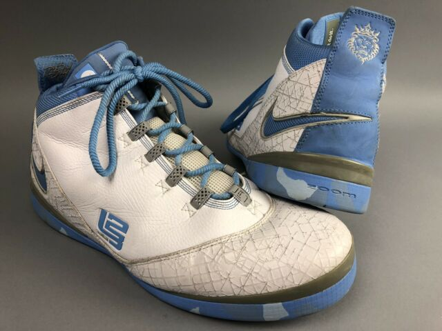 online store 750a4 d6db8 Basketball Shoes Nike Zoom Lebron James Size 14 Soldier II Elite Vintage  Blue