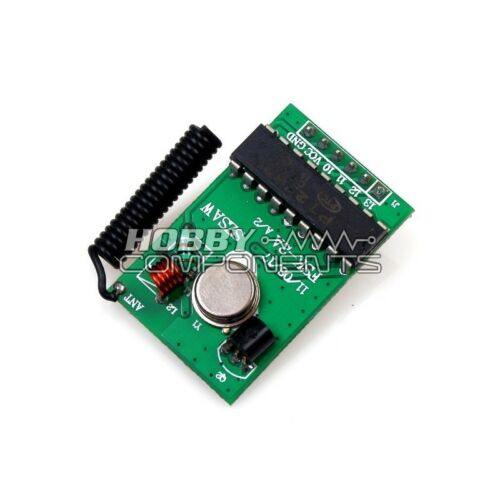 HOBBY COMPONENTS LTD PT2262 Wireless RF Remote control Module 315MHz