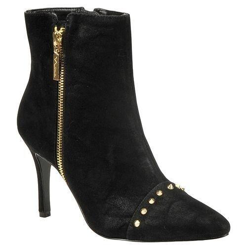 Nina Nina Nina Womens Gabele-FY BLACK ELISA Boot Sz 7M 9d42af