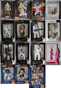 Elvis-Presley-Marilyn-Monroe-M-amp-M-039-S-ORNEMENT-Figurine-Noel-choisir