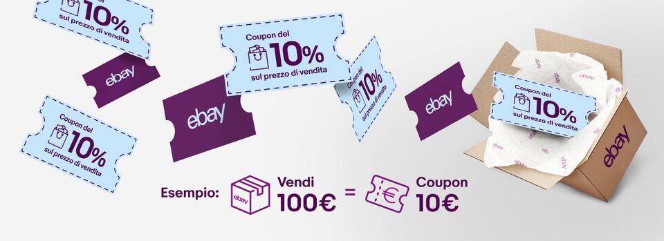 Accetta la promo - Ricevi il 10% delle vendite in coupon