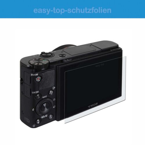 Panasonic Lumix dmc-g81-3x Easy-Top cristal clara anti-shock displayschutzfoli