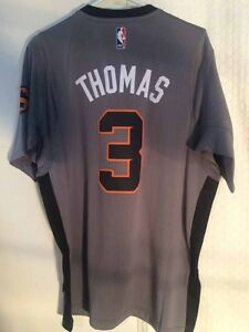 91658232a81 Adidas SWINGMAN 2014-15 NBA Jersey Suns Isaiah Thomas Grey sz XL