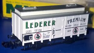 """Minitrix 13604, """"Lederer"""" DB Gedeckter Güterwagen 316 1 226-0 neuwertig OVP - Algermissen, Deutschland - Minitrix 13604, """"Lederer"""" DB Gedeckter Güterwagen 316 1 226-0 neuwertig OVP - Algermissen, Deutschland"""