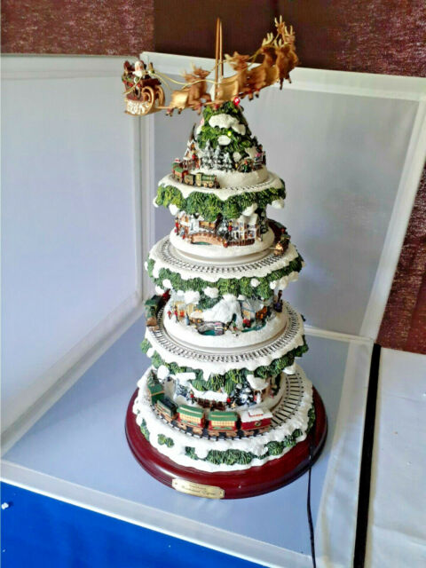 Ne'Qwa Art Thomas Kinkade Home for the Holidays Christmas Ornament MIB w COA   eBay