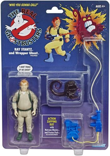Hasbro The Real Ghostbusters Kenner Classics 13cm Ray Stantz and Wrapper Ghost