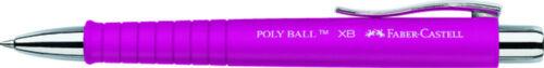 5x FABER-CASTELL Kugelschreiber POLY-BALL XB pink 241128 Ballpoint Pen NEU