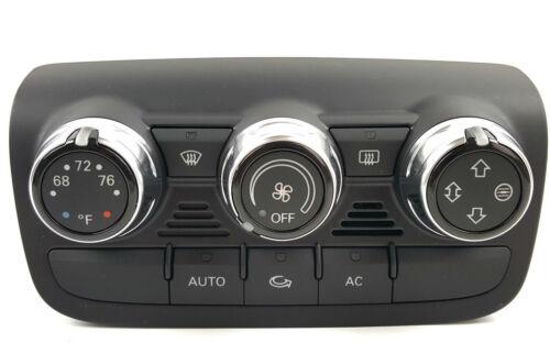 Audi TT TTs 8j clima mando de asiento calefactado manejo climatronic 8j0820043t h77