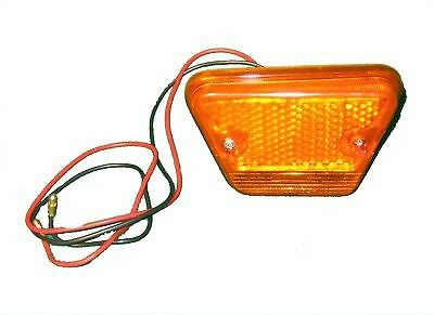 New Front Side Marker Lamp Lens for Triumph TR6 1969-72 RH Complete Assembly