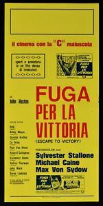Plakat Escape Für Victory Caine Hengst Pele Huston Sidow Fußball Moore N61