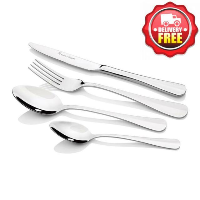 Stanley Roger Cambridge 30 Piece Dining Cutlery Set   Stainless Steel   Gift Box