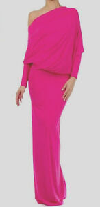 FUCHSIA-PINK-Multiway-CONVERTIBLE-Reversible-MAXI-DRESS-Long-Party-S-L-3X-PLUS