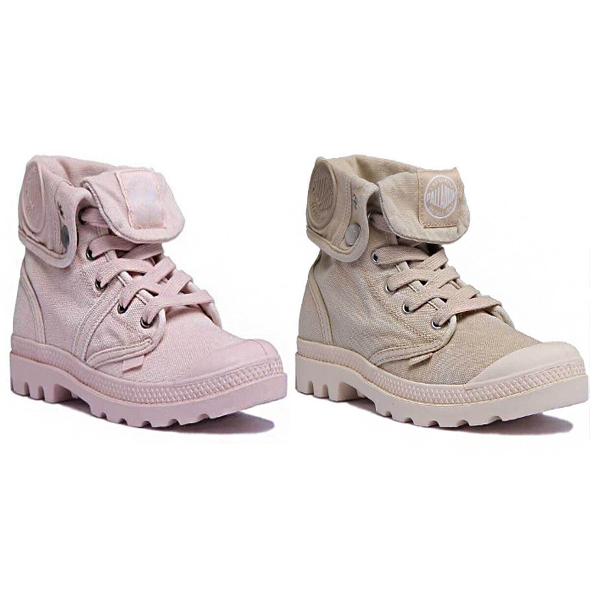 Palladium Pallabrouse Bag Damenschuhe Light Pink Stiefel Canvas Stiefel Pink Größe UK 3 - 8 aabe68